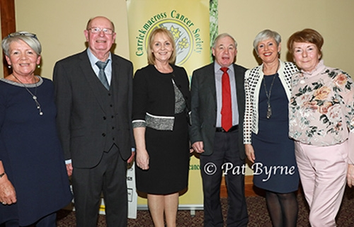 CCS Executive Committee with Public Information  guest speaker Aileen Emerey from the Gary Kelly Cancer Support Centre , Drogheda,