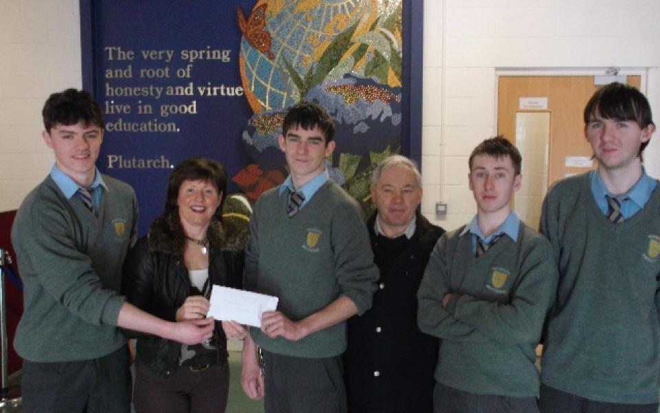 high school cheque
